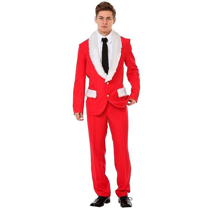 Amazon.com: Boo Inc. Magnífico traje de Navidad de Mr. Claus ...