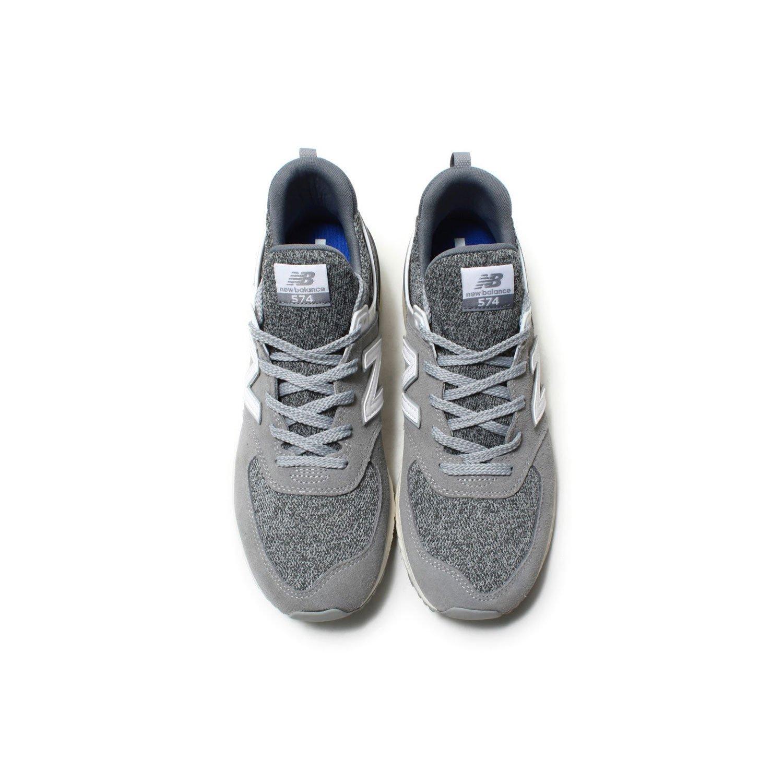 best sneakers 5ee5b ad049 Amazon.com   New Balance New Men s Balance 574 Sport Grey White Ms574bg    Fashion Sneakers
