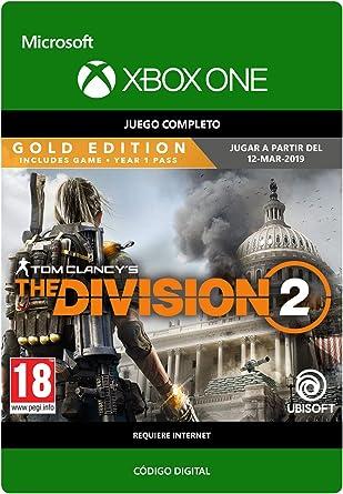 Tom Clancys The Division 2: Gold Edition | Xbox One - Código de ...