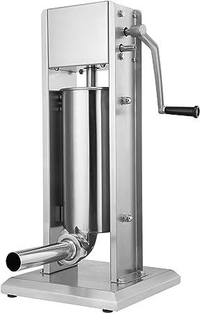 HÁGALO USTED MISMO: la máquina de salchichas está fabricada en acero inoxidable de alta calidad y di