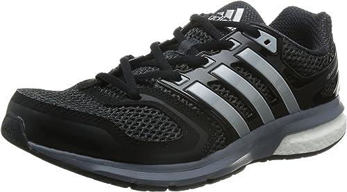 Adidas Questar Boost M, Zapatillas De Running Hombre, Multicolor (Cblack/Silvmt/Dkgrey), 47 1/3 EU: adidas: Amazon.es: Zapatos y complementos