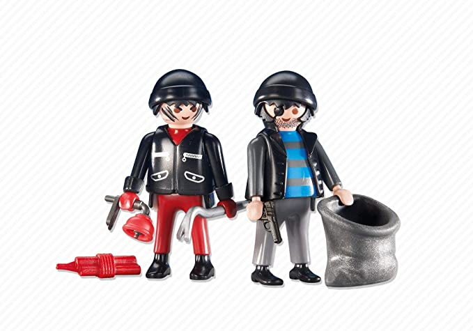 Playmobil Add-On Series - 2 Burglars