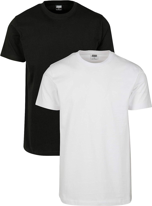 Urban Classics Camiseta (Pack de 2) para Hombre: Amazon.es: Ropa y accesorios