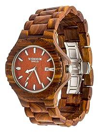 woodie specs handmade sandalwood wooden watch