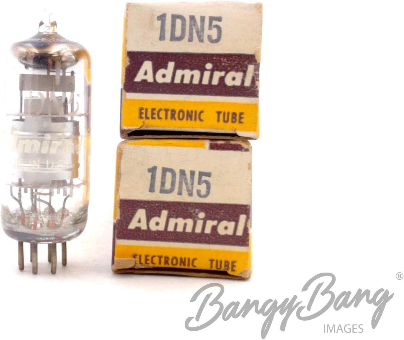 BangyBang Tubes 2 Vintage Admiral 1DN5 Single Diode Remote Cutoff Pentode Valve