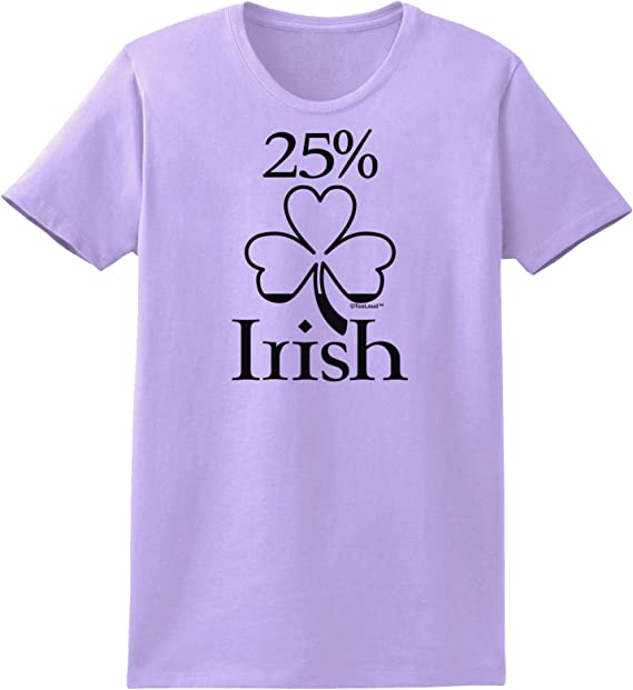 TooLoud 25 Percent Irish St Patricks Day Infant T-Shirt Dark