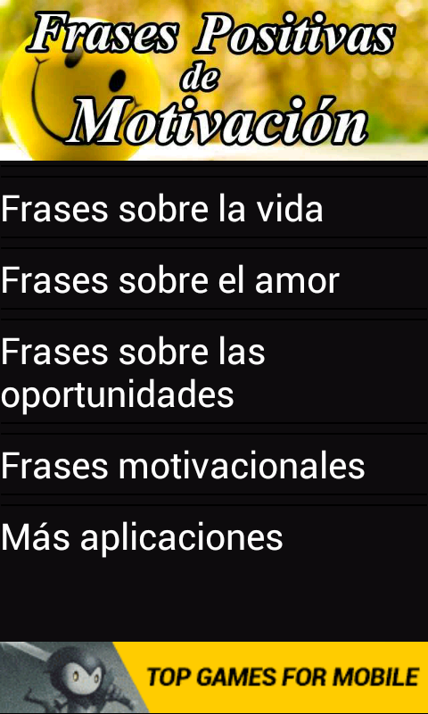 Amazoncom Frases Positivas De Motivación Appstore For Android