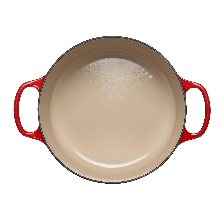 Le Creuset Cocotte, Hierro Fundido, Cereza, 24 cm