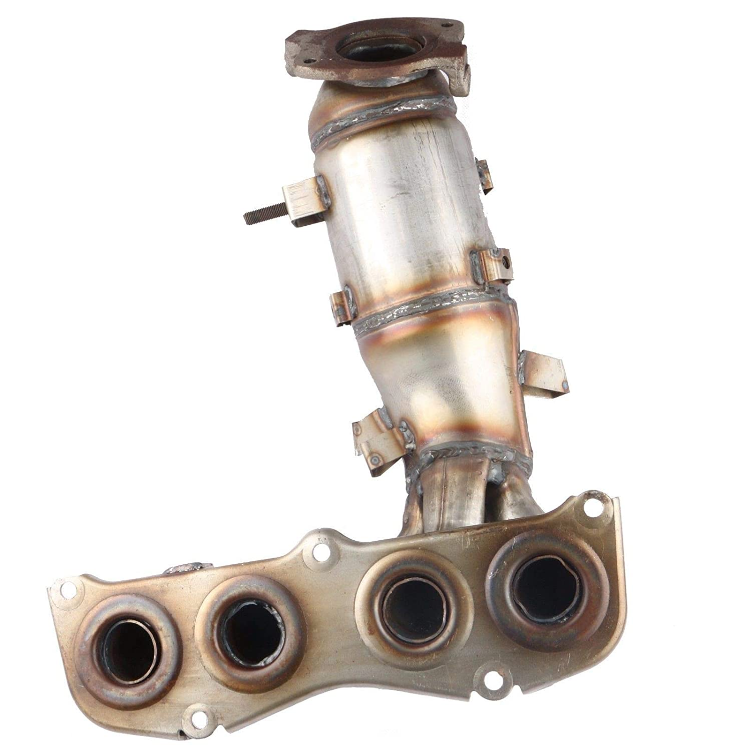 MOSTPLUS Exhaust Manifold w//Catalytic Converter For 02-06 Toyota Camry Solara 2.4L Replaces 674-811