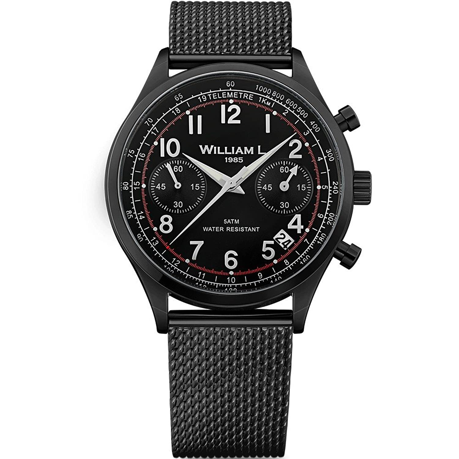 William L. Mens-Armbanduhr WLIB01NRMMN