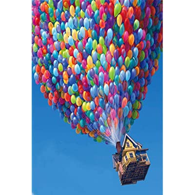 WJPT Jigsaw Puzzle 1000 Piece World Scenery Puzzle Children Cartoon Puzzle Educational Toy New Year Gift-hot air Balloon: Toys & Games
