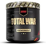 Redcon1 Total War - Pre Workout, 30 Servings, Boost Energy, Increase Endurance and Focus, Beta-Alanine, 350mg Caffeine, Citru