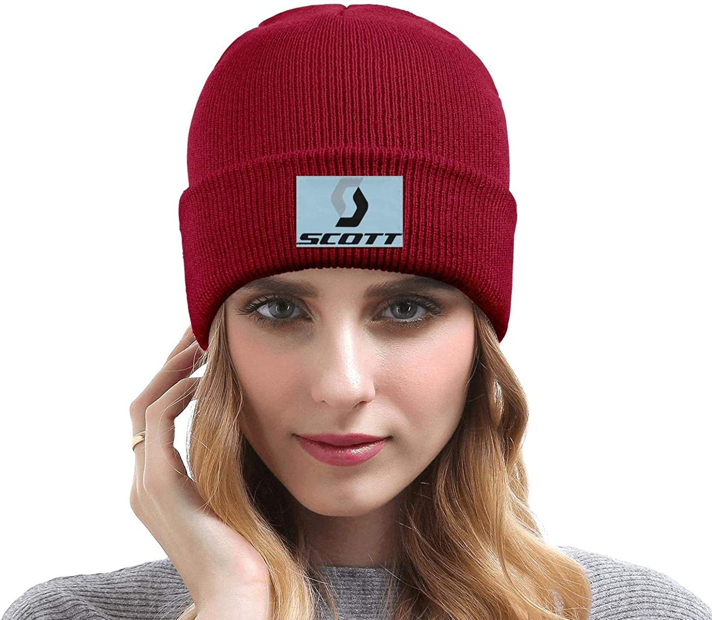 DXQIANG Sc-OTT-Sports Men Women Knit Beanies Hat Warm Skull Knit Cap