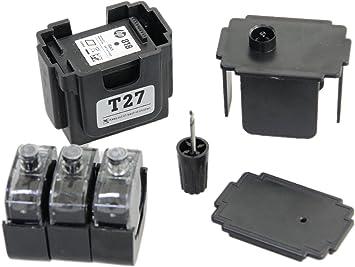 Kit DE FÁCIL Recarga para Cartuchos de Tinta HP 301, 301 XL Negro, Tinta Incluye Clip y Accesorios: Amazon.es: Electrónica