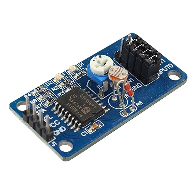 PCF8591 AD//DA Converter Module Analog to Digital to Analog Conversion