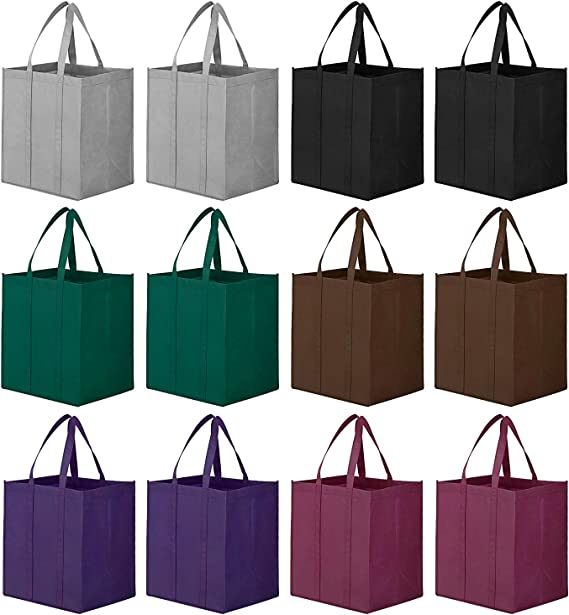 WiseLife Reusable Grocery Bags