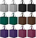 WiseLife Reusable Grocery Bag 12 Pack