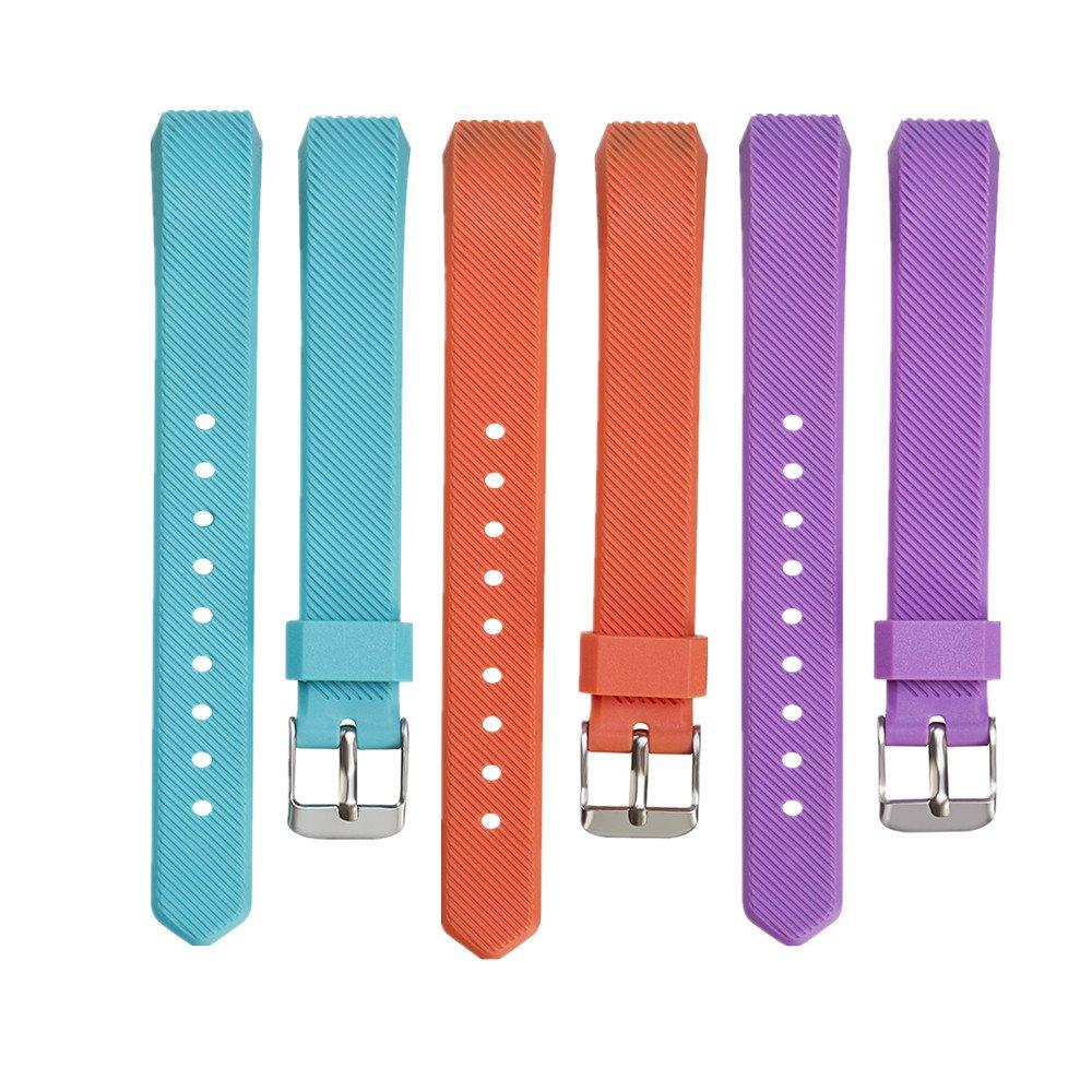 WEINISITE Silicone Remplacement de Bracelet Pour Fitbit Alta