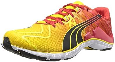 e7892e06 Puma Men's Mobium Elite V2 Running Shoe,Vibrant Yellow/High Risk Red/Black