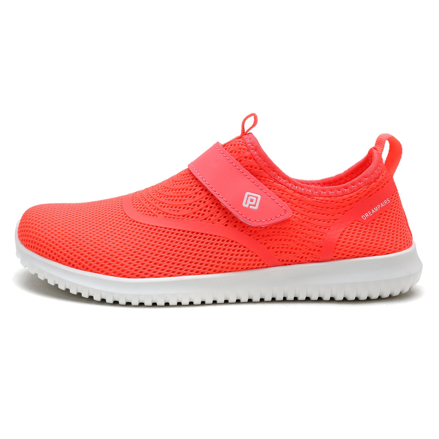 DREAM PAIRS Quick-Dry Water Shoes Sports Walking Casual Sneakers for Women B0788B7WG8 11 M US|Coral