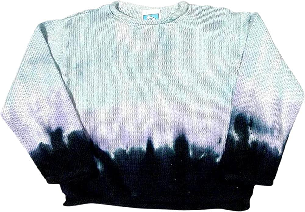 Zinnias Big Girls Long Sleeve Dip Dyed Sweater