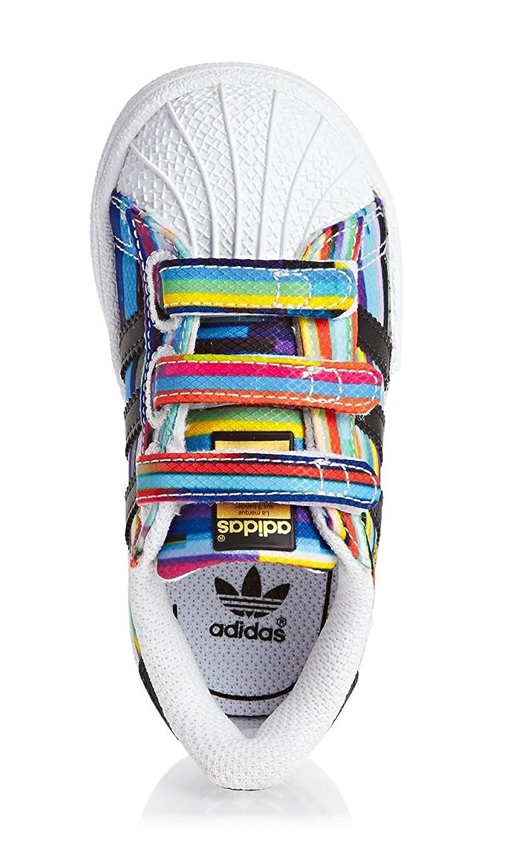 4ba758787d580 adidas Superstar CF I Basket Mode Fille Multicolore 20  Amazon.fr   Chaussures et Sacs