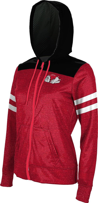 Gameday School Spirit Sweatshirt ProSphere Gardner-Webb University Girls Zipper Hoodie
