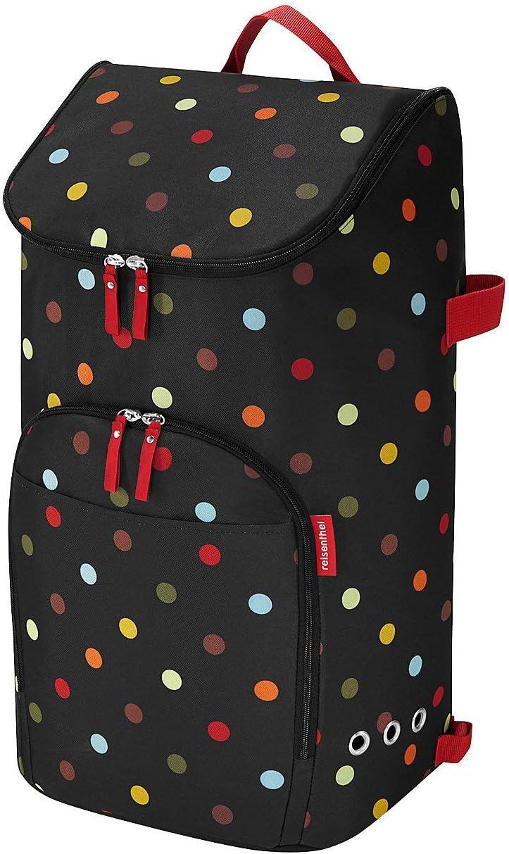 reisenthel citycruiser Bag Carro de la Compra, Poliéster, Multicolor (Dots), 60 Centimeters