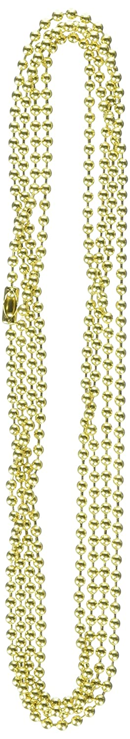 Chain Bead W//Con No 6 5ft BRS Jandorf Specialty Hardware 60361