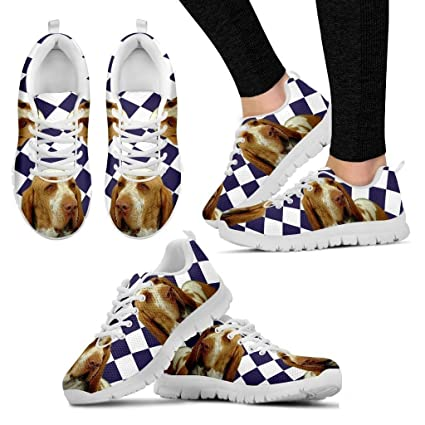 Bracco Italiano Dog Running Shoes - Dog Lovers Gifts - Custom Print Design Athletic  Tennis Shoes Sneakers - Pet Owner Lover Gift Ideas - Women s Sizing dd545699f842