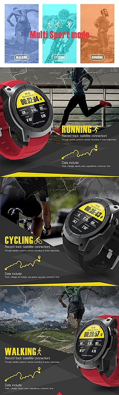 Amazon.com: S958 Smart watch GPS Sports Watch 1.3 inch ...