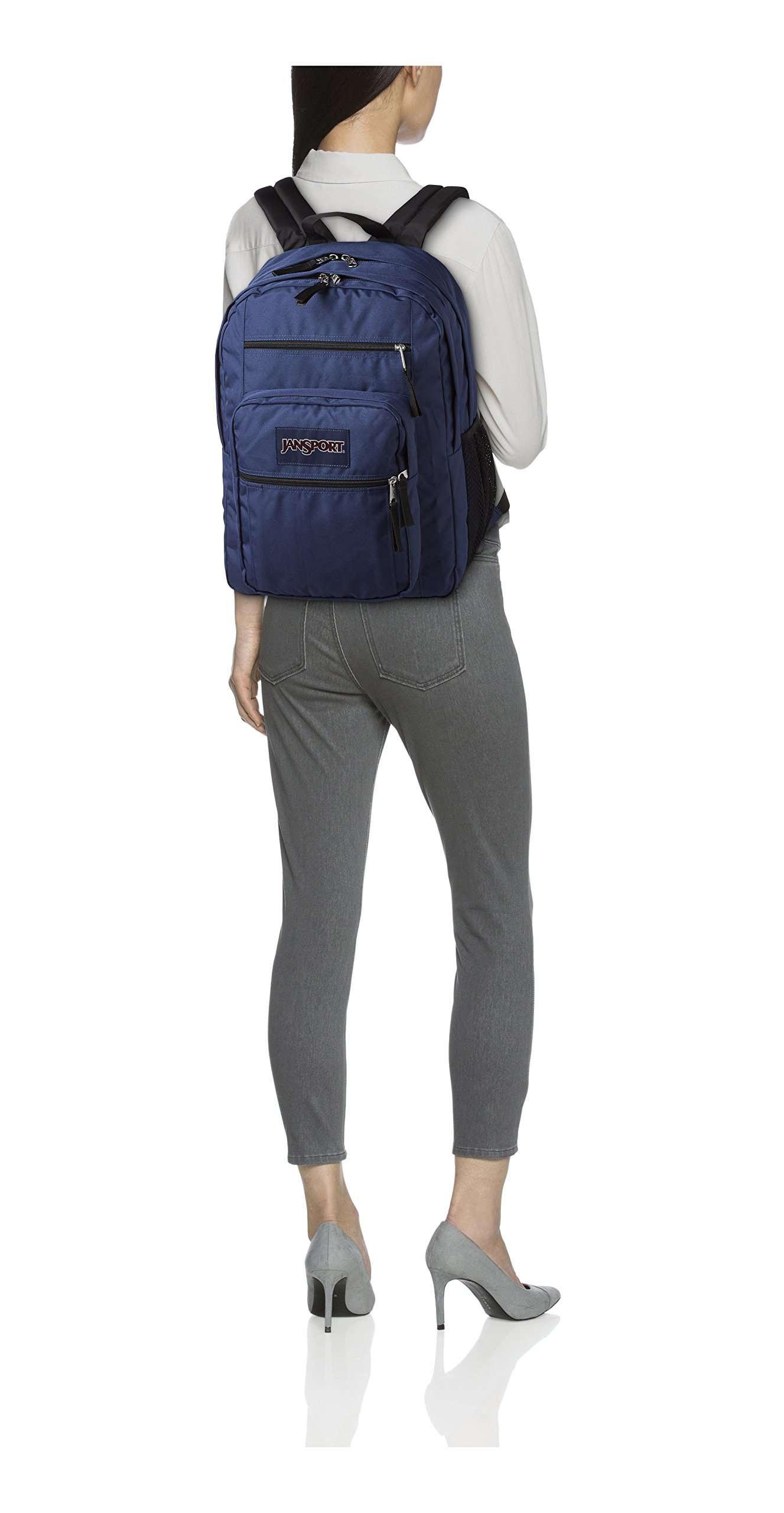 JanSport Big Student Classics Series Backpack - Navy by JanSport (Image #4)