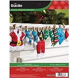 Bucilla Felt Applique Home Decor Kit, 27 by 5-Inch, Laundry Garland