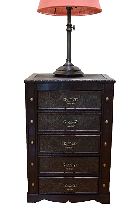 Greatest Amazon.com: Decorative New England Night Stand with Drawers  WV15