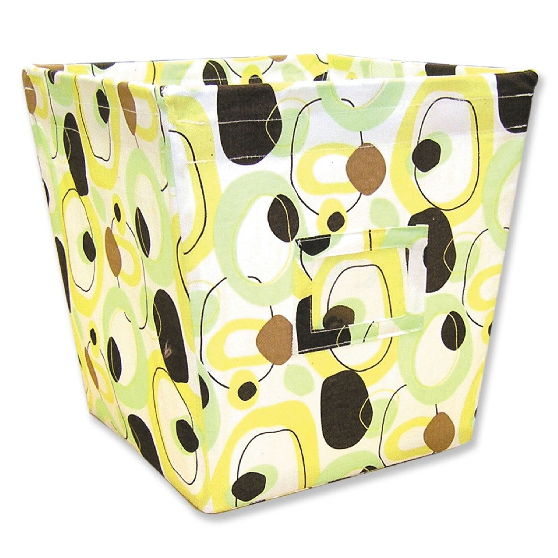 Trend Lab Fabric Storage Bin, Gigi Print, Large 101560
