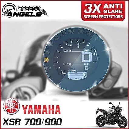 Speedo-Angels 3 x YAMAHA MT-09 900 TRACER Veloc/ímetro Tacho Protector de pantalla Anti Reflexi/ón Speedo