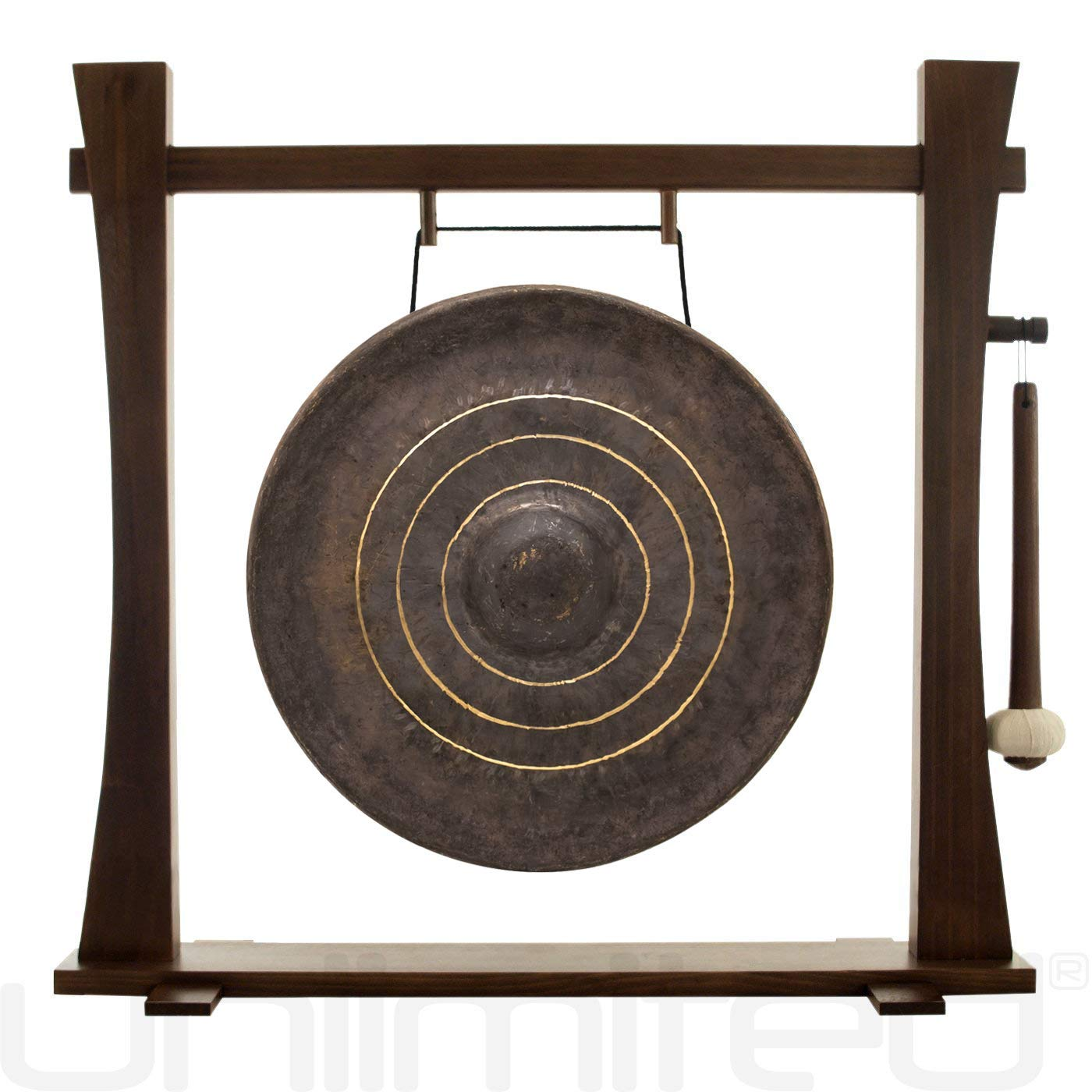 16'' to 18'' Gongs on the Spirit Guide Gong Stand by Unlimited