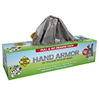 Deals on 200-Ct Bags On Board Hand Armor Dog Poop Bags