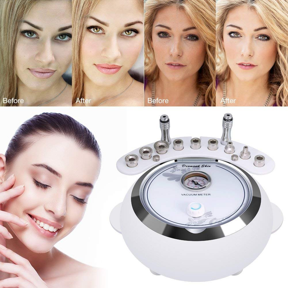 [Upgrade Version]3 in 1 Diamond Microdermabrasion Machine Big Suction, MYSWEETY Facial Care Salon Equipment for Personal Home Use (Suction Power: 65-68cmhg) by MYSWEETY (Image #4)