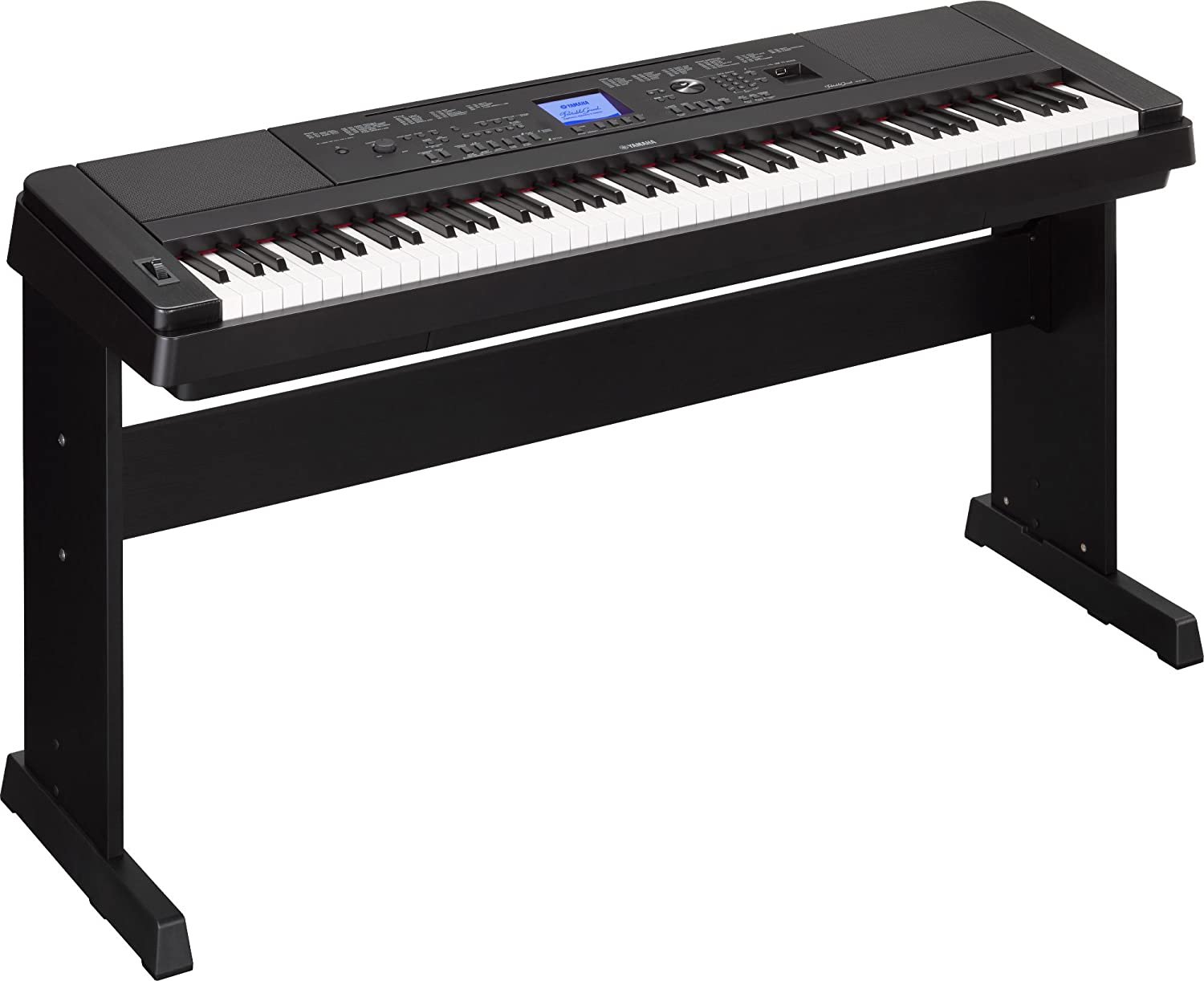 Yamaha Dgx660b 88 Key Weighted Digital Piano With Furniture Stand