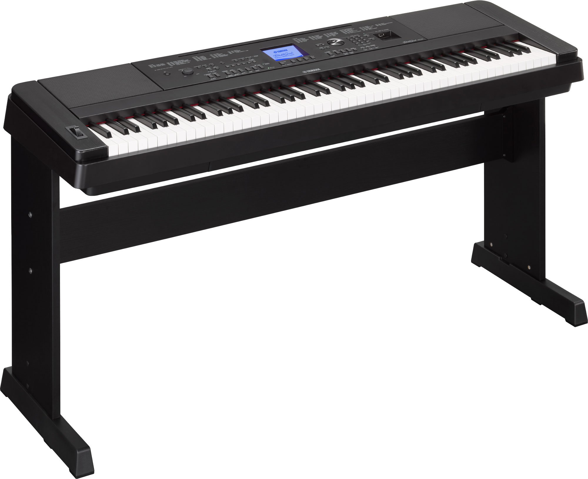 Yamaha Dgx660B 88-Key Weighted Digital Piano With Furniture Stand by YAMAHA