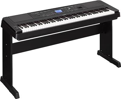 Yamaha DGX-660 88-Key Weighted Action Digital Grand Piano Premium
