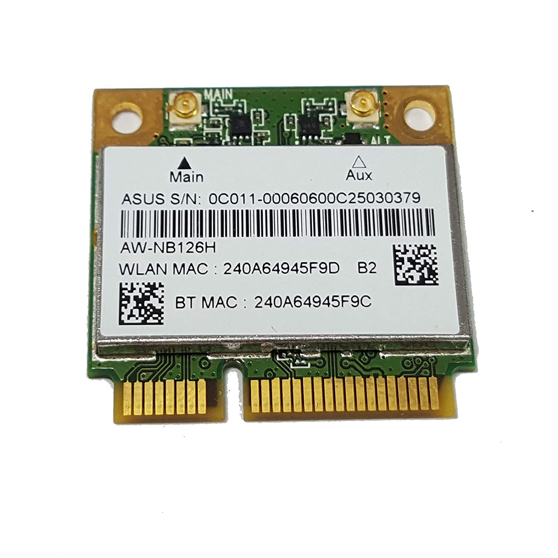 TRP Tarjeta WiFi ASUS N76VJ AR5B225 AW-NB097H Bluetooth ...