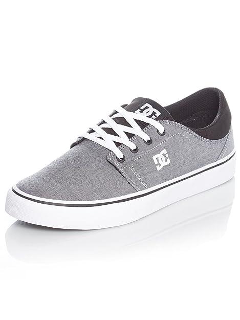 DC Shoestrase TX Se M - Zapatillas Hombre, Color Gris, Talla 36 EU