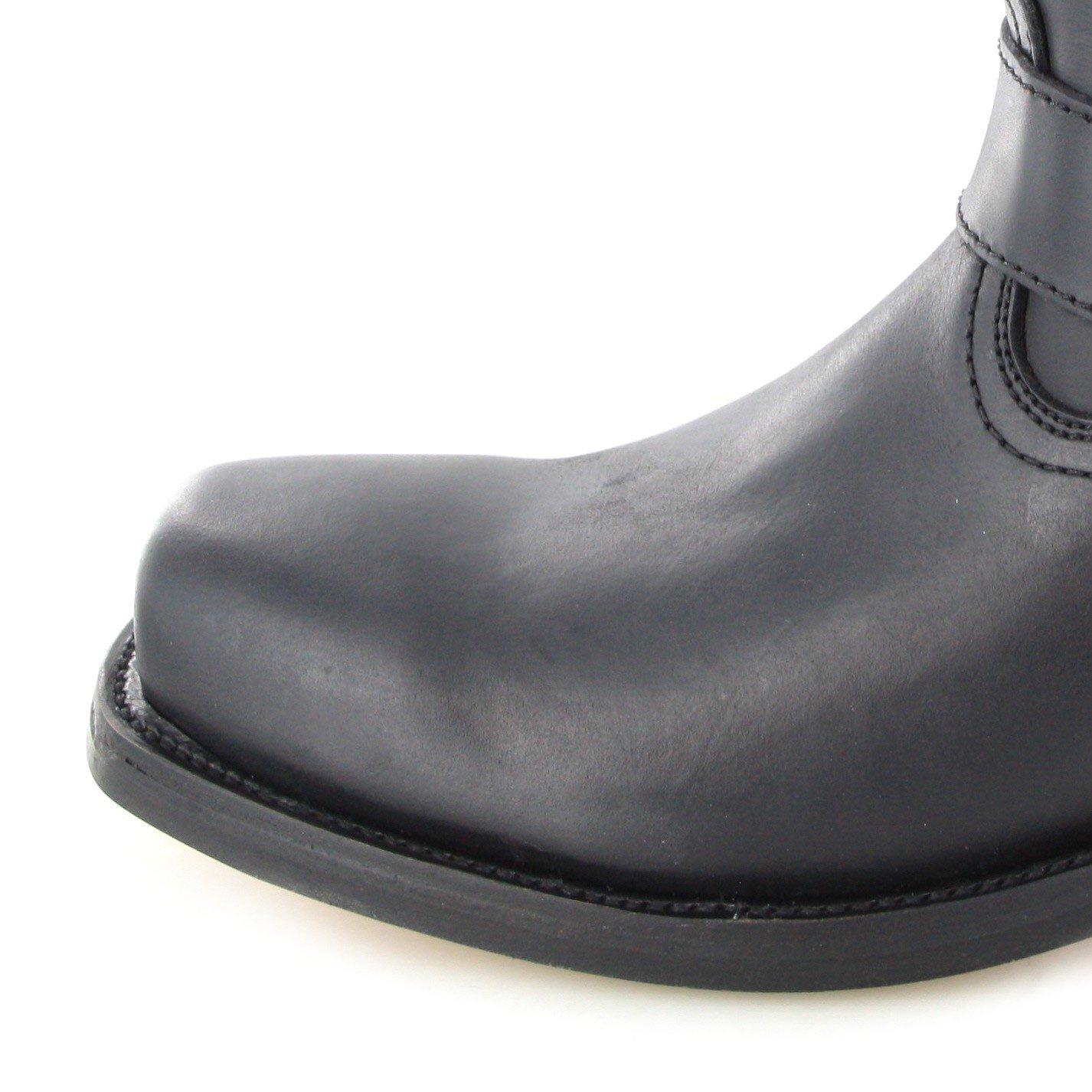 FB Fashion Boots Buffalo Boots 1801 Black Bikerstiefel Schwarz für Damen und Herren Schwarz Bikerstiefel Lederstiefel Black 61de39
