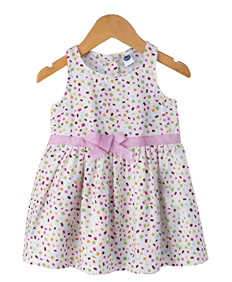 4d5267fc6afdd2 Teddy Baby Girls Sleeveless Frock,100% Cotton | Baby Girls Dresses ...