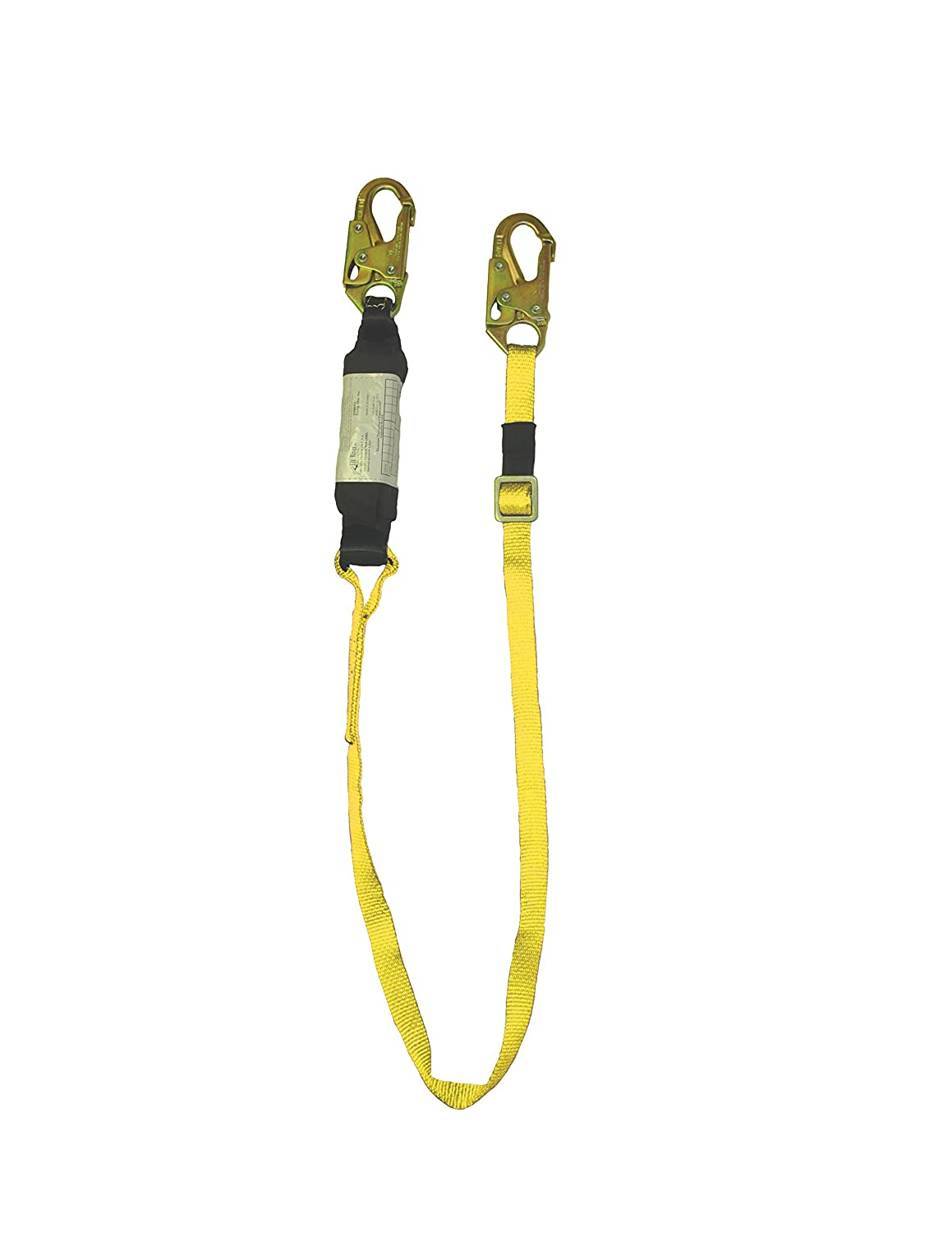 Elk River 63117 Eagle Twin Leg Nylon Positioning Web Lanyard with Zsnaphook and Zrebar Hook, 3600 lbs Gate, 6' Length x 1 Width by Elk River B005FMPPQ2