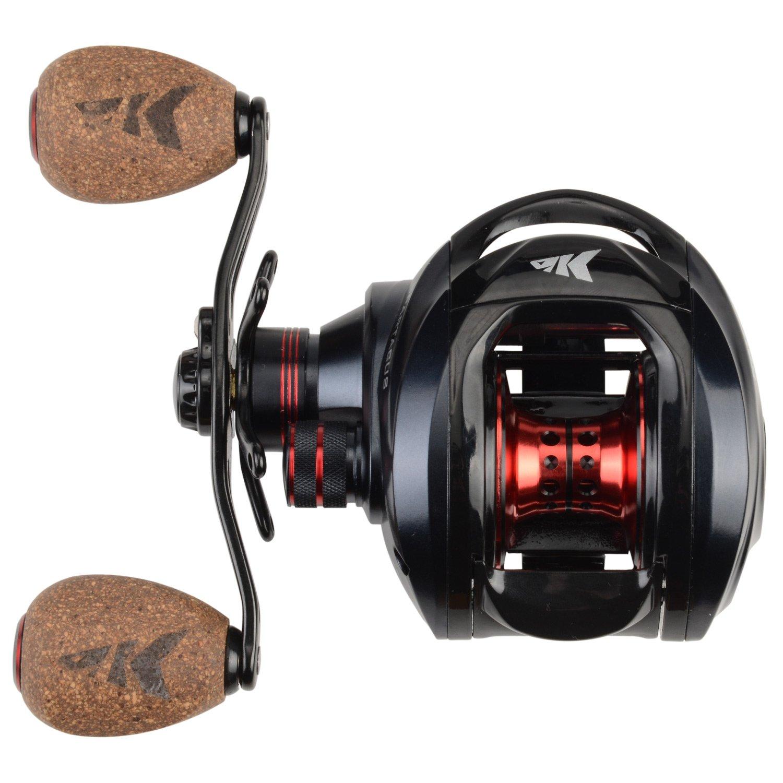KastKing Spartacus Plus Baitcasting Fishing Reel,Rubber Cork Version,Left Handed Reel by KastKing (Image #2)