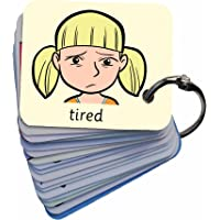 Feelings & Emotions 101 Lucy Picture Exchange Communication Keyring (Autism / AAC / ASD) Visual Aid Resource