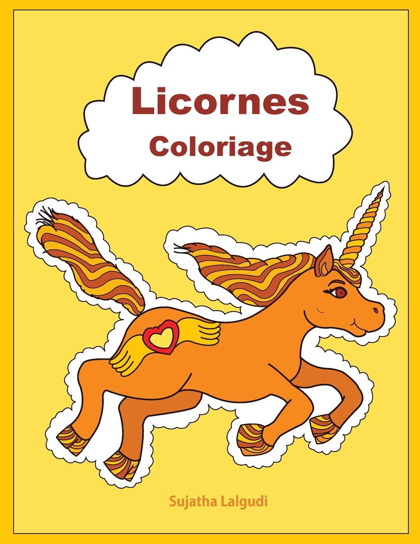 Coloriage Adulte Licorne.Licornes Coloriage Livre De Coloriage Licorne French Edition